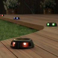 Solar Tapdance Decking Lights x 2