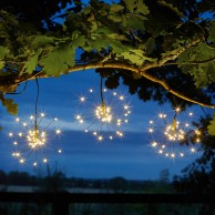 Solar Triple Starburst String Light Dual Colour