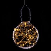 Twinkling Funky Filament Globe Bulbs E27