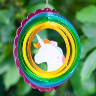Unicorn Wind Spinner 15cm