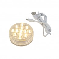 USB Rechargeable LED Uplighter