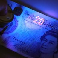 UV Counterfeit Keyring Torch