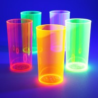 UV Reactive High Ball Glasses