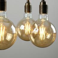 Vintage Giant Globe Filament Bulb E27 6W
