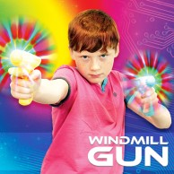 Light Up Windmill Gun
