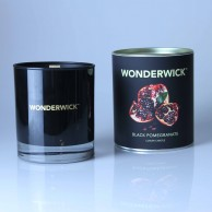 Wonderwick Black Pomegranate Noir Glass Candle
