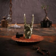 Zombie Rock Hand Candle