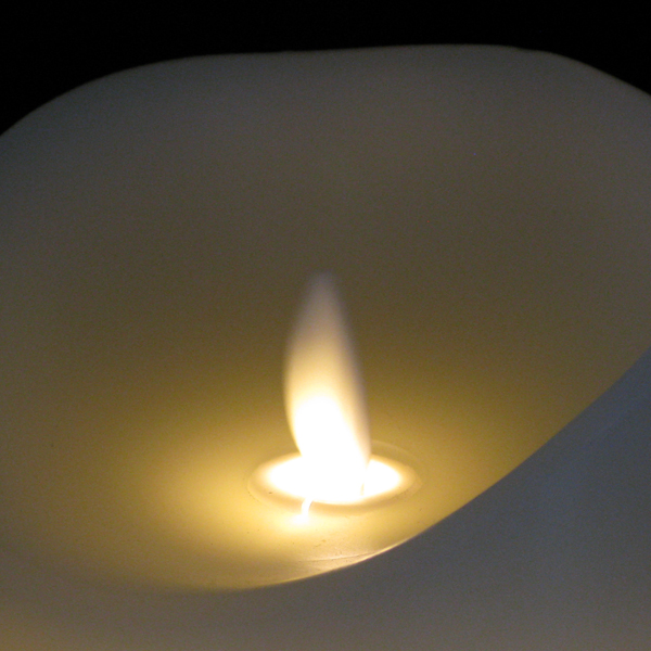 Dancing Flame Candles Ivory