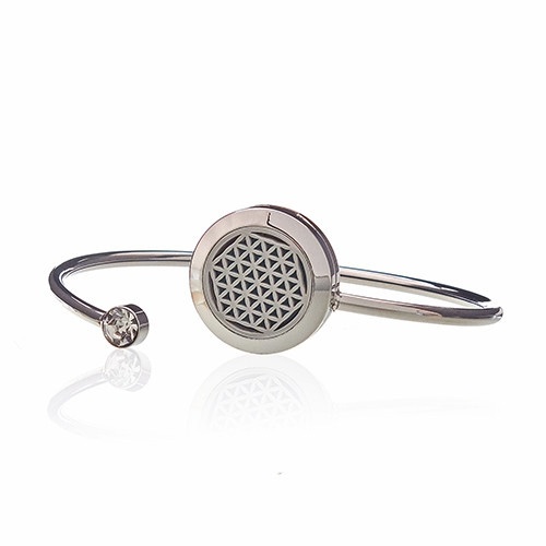 Click to view product details and reviews for Diffuser Bangle Flower Of Life 23.