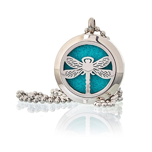 Click to view product details and reviews for Diffuser Necklace Dragonfly 25mm 04.