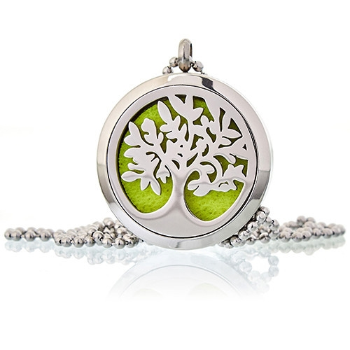 Diffuser Necklace Tree Of Life 30mm 08