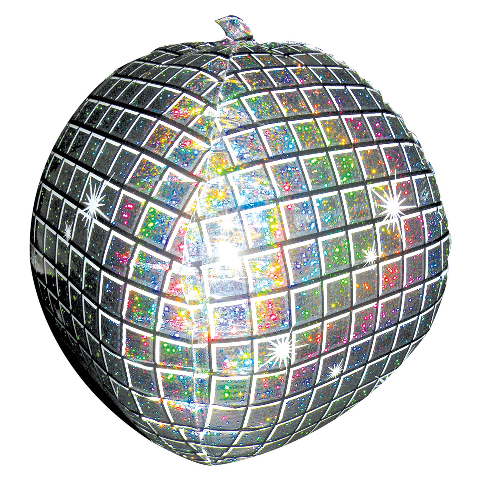 Click to view product details and reviews for Disco Ball Holographic Ultrashape Foil Balloon.