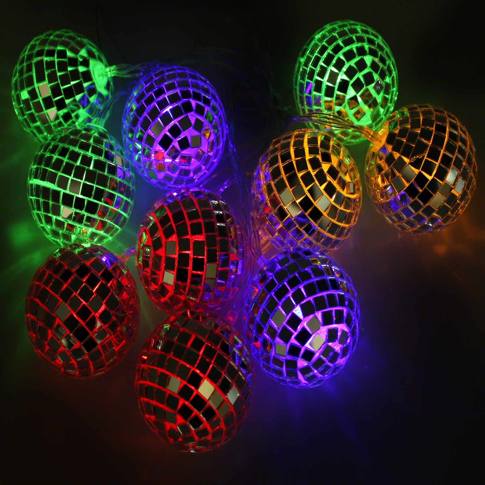 Click to view product details and reviews for Mirror Ball Stringlights.