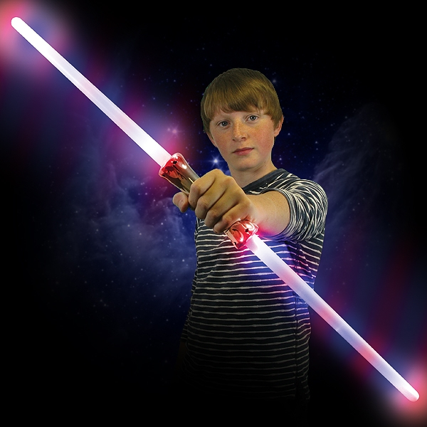 Click to view product details and reviews for Double Laser Sword Wholesale.