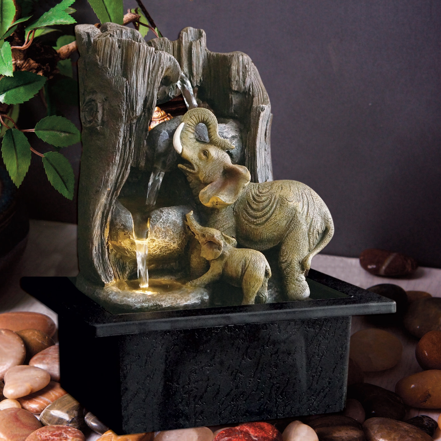 Click to view product details and reviews for Elephant Water Fountain.