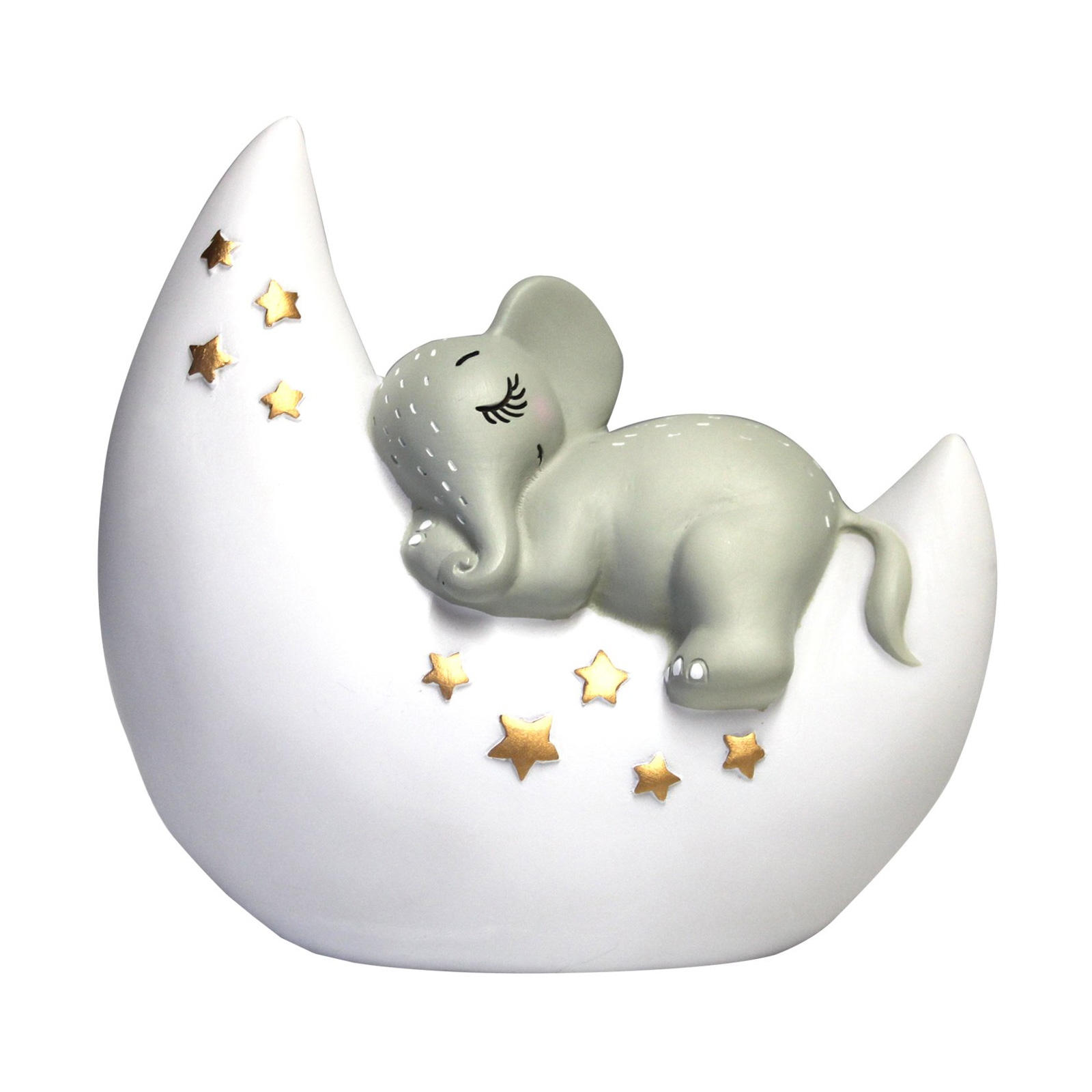Click to view product details and reviews for Mini Led Elephant And Moon Lamp.