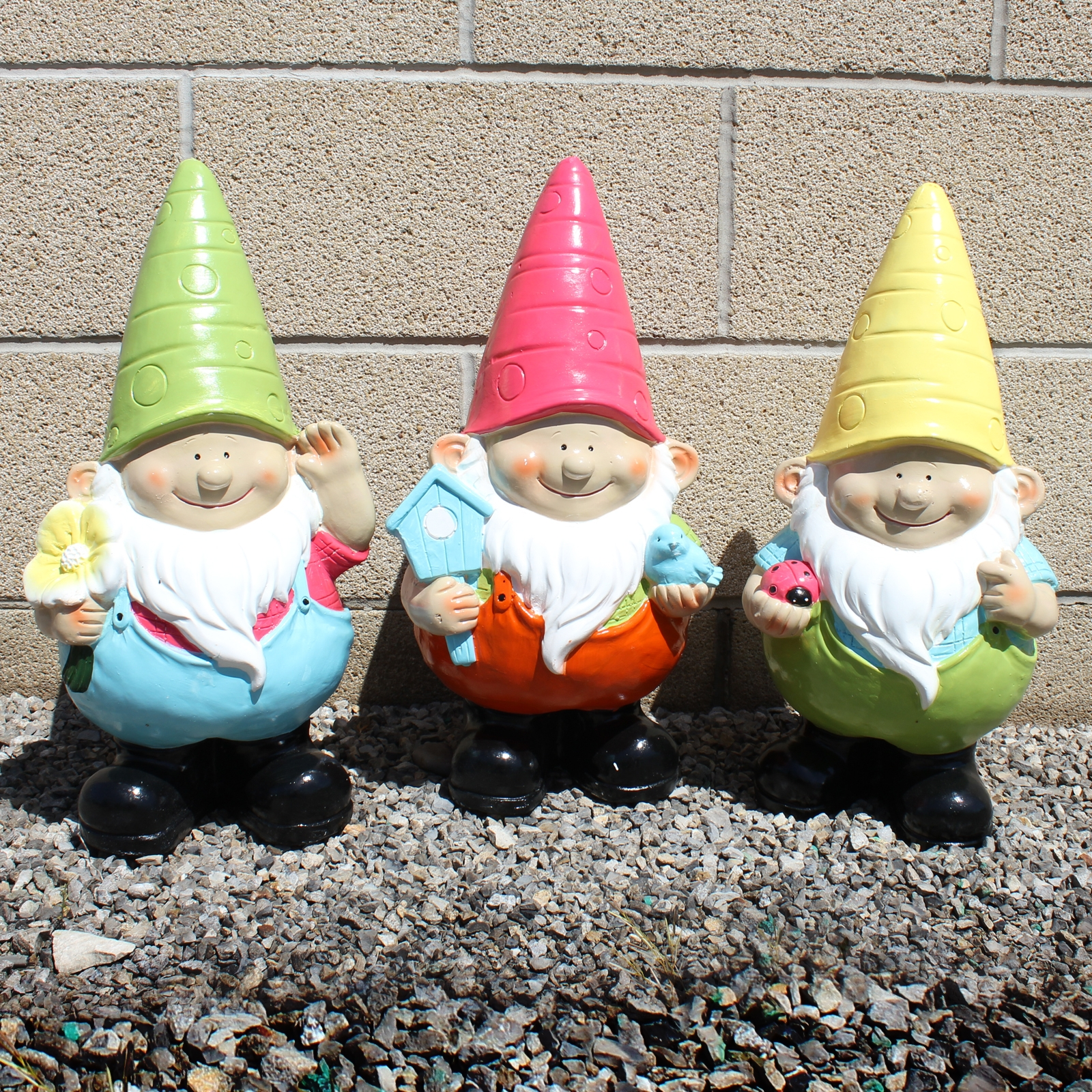 Click to view product details and reviews for Shiny Giant Gnome 50cm Tall.