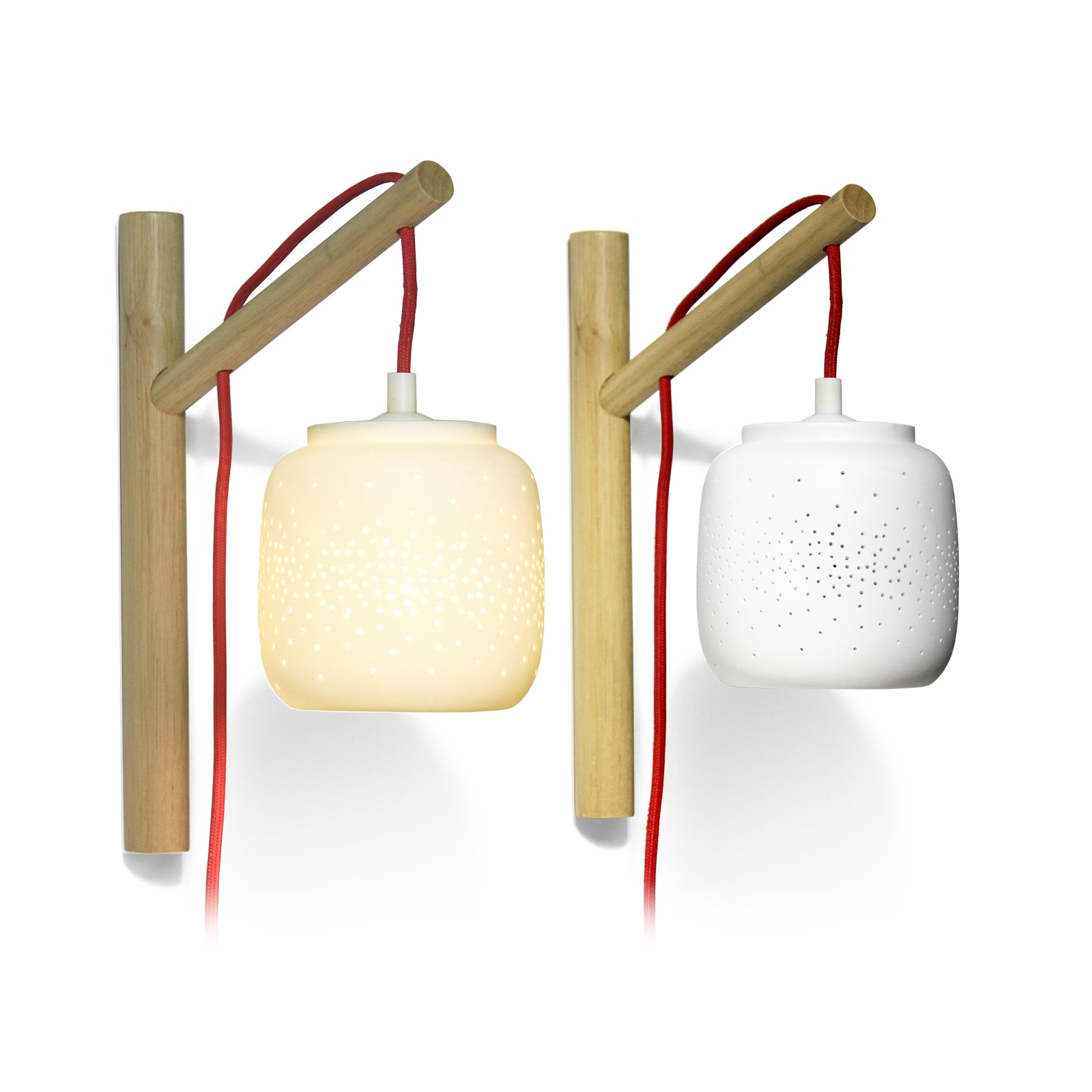 Click to view product details and reviews for Fireflies Porcelain Lamp.