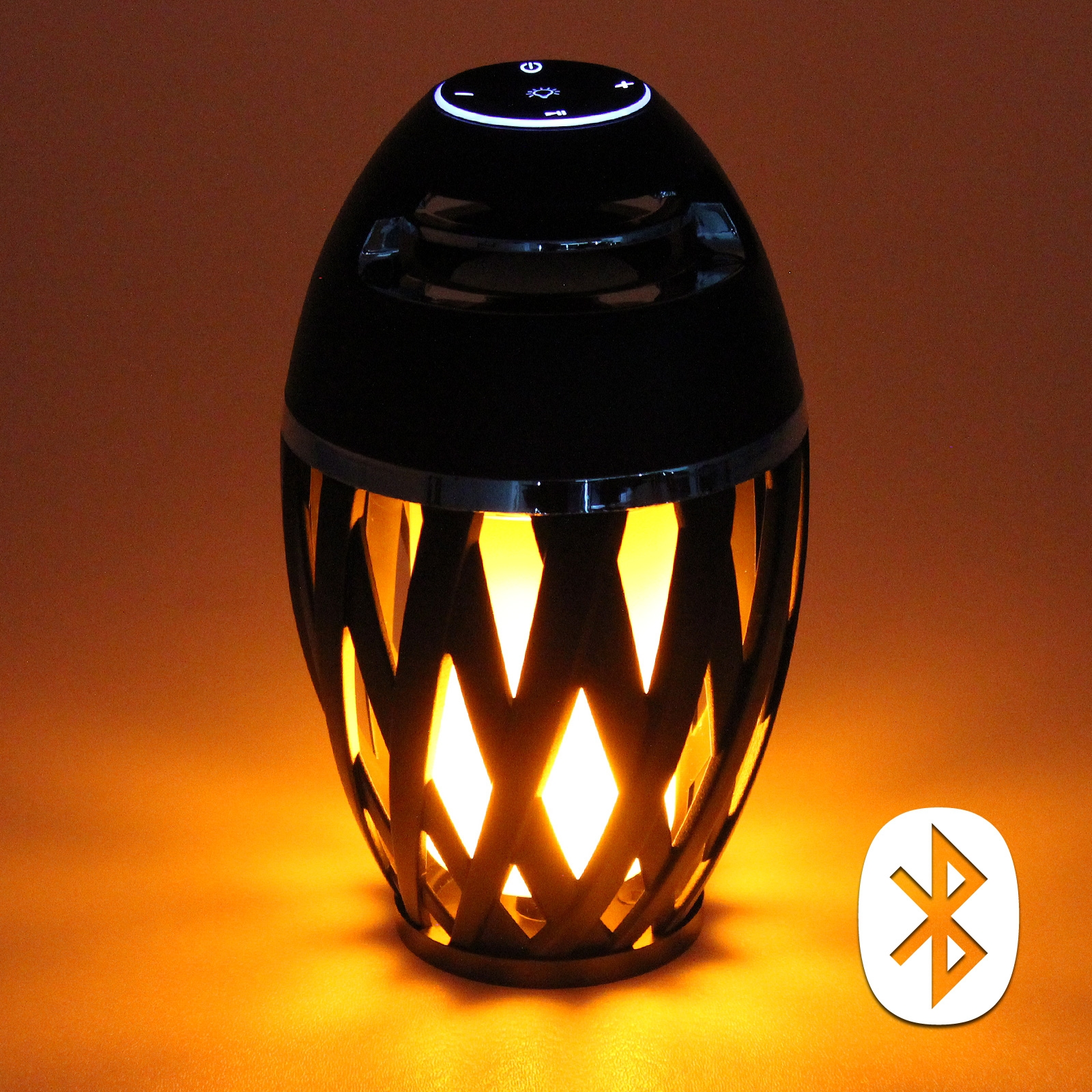 Led Flame Effect Speaker