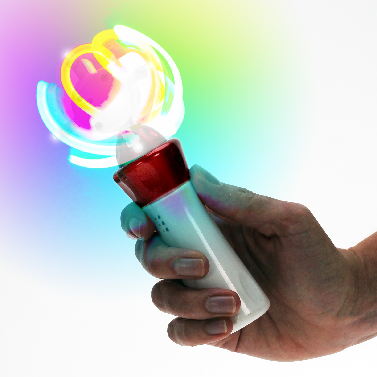 Click to view product details and reviews for Flashing Cyclone Spinner Wholesale.