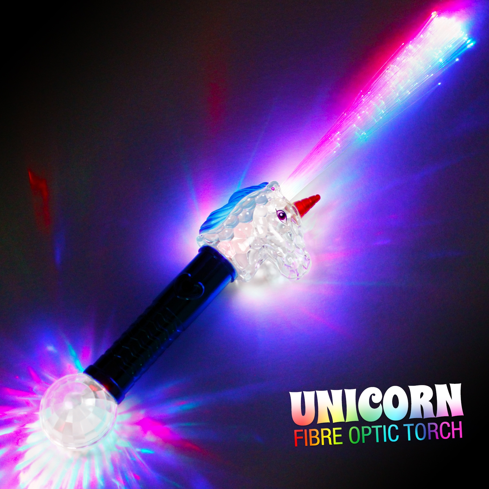 Click to view product details and reviews for Unicorn Fibre Optic Torch Wholesale.