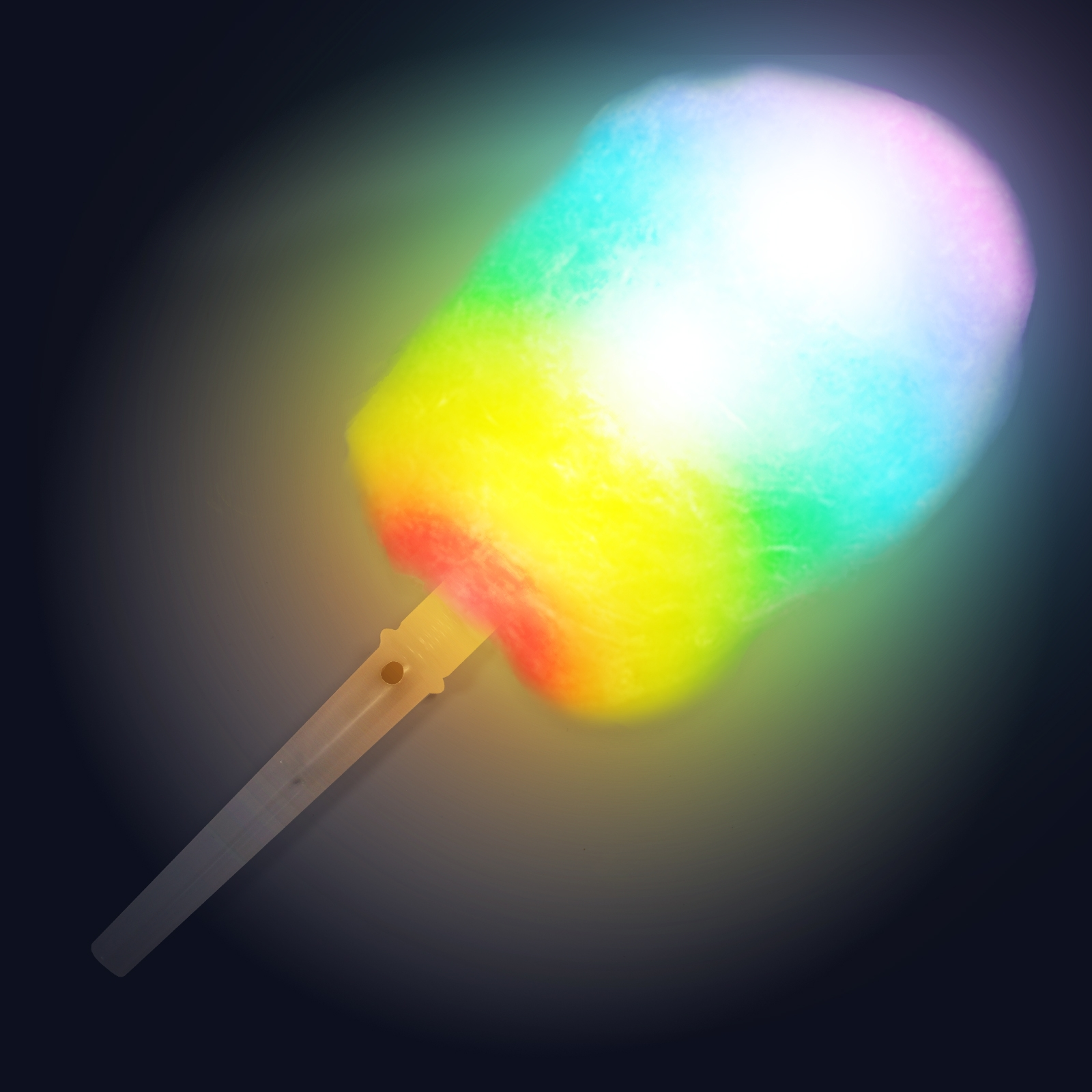Click to view product details and reviews for Flashing Candy Floss Stick.