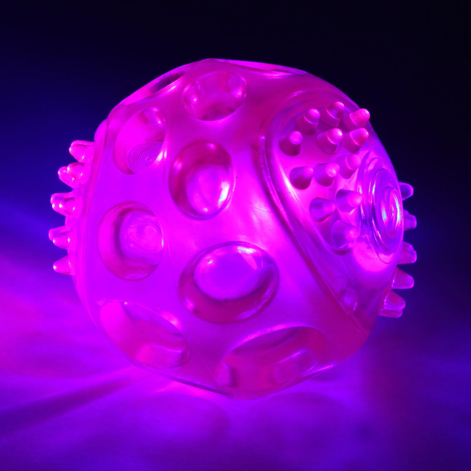 Click to view product details and reviews for Flashing Dog Ball.