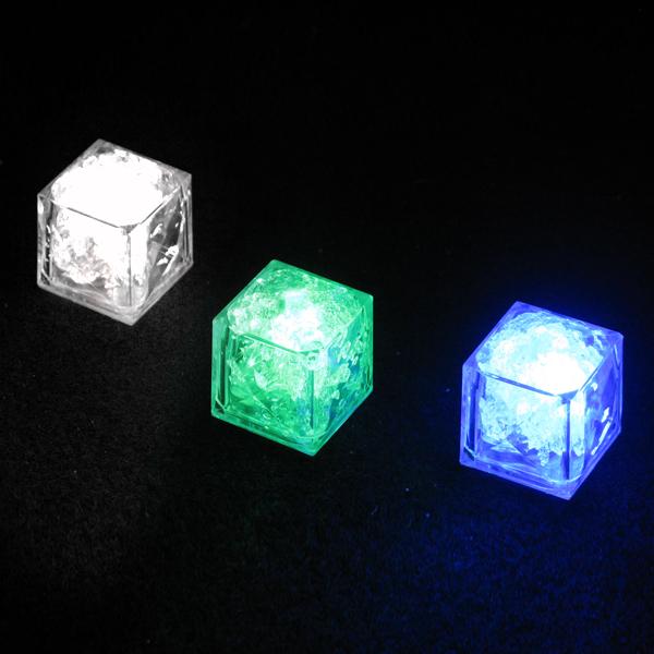 Flashing Ice Cubes
