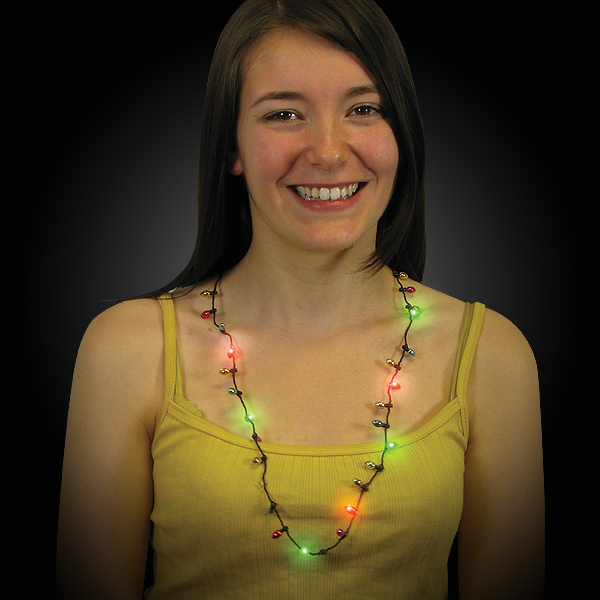 Click to view product details and reviews for Flashing Party Necklace.