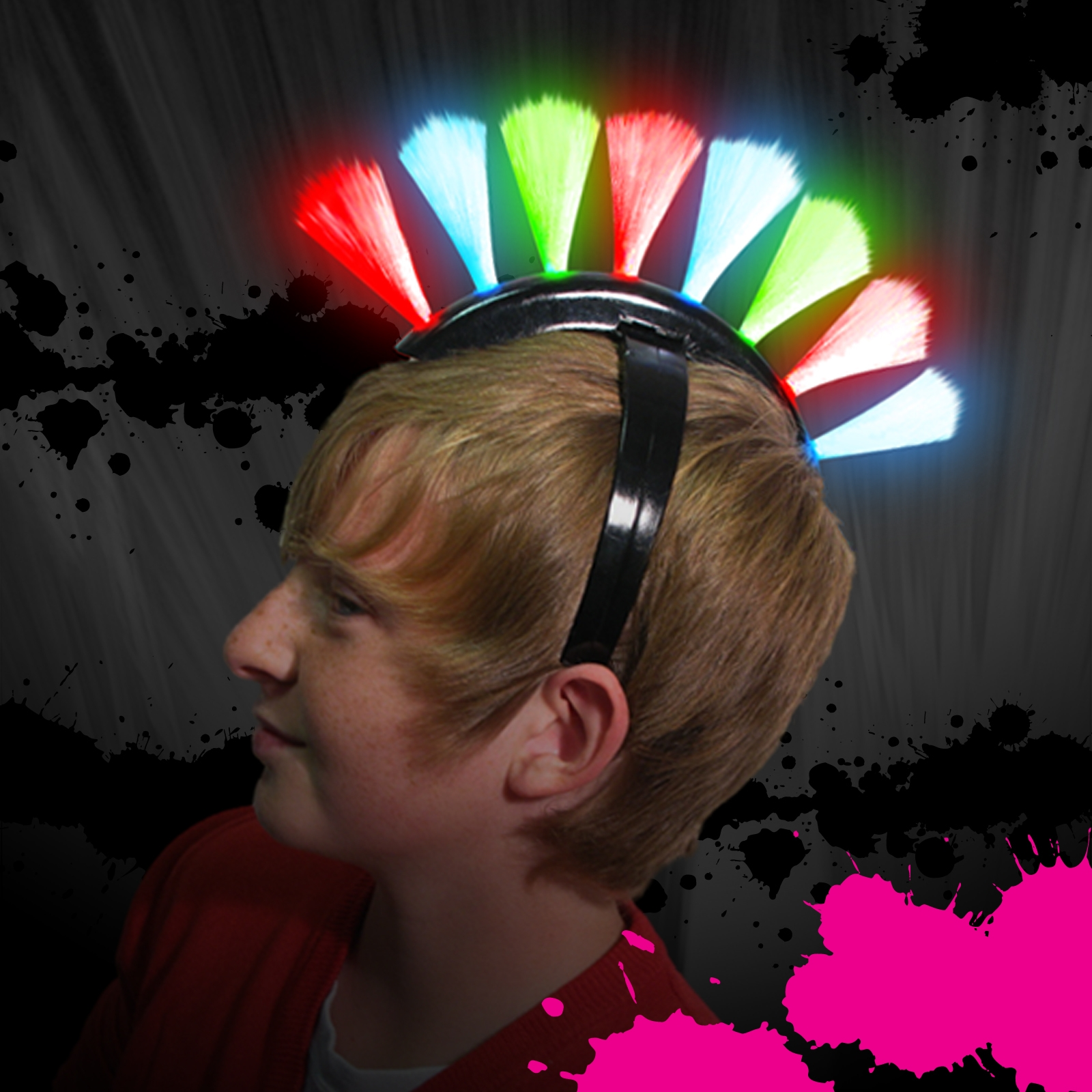 Click to view product details and reviews for Flashing Punk Hair.