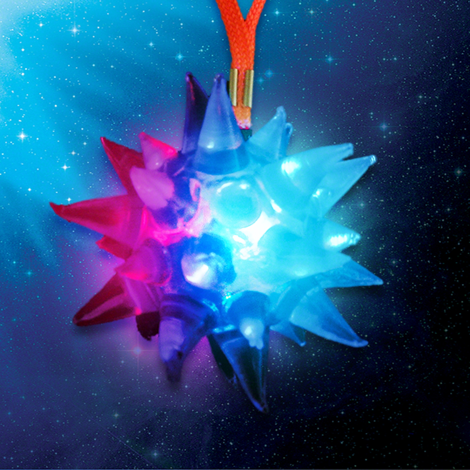 Click to view product details and reviews for Flashing Crystal Star Wholesale.