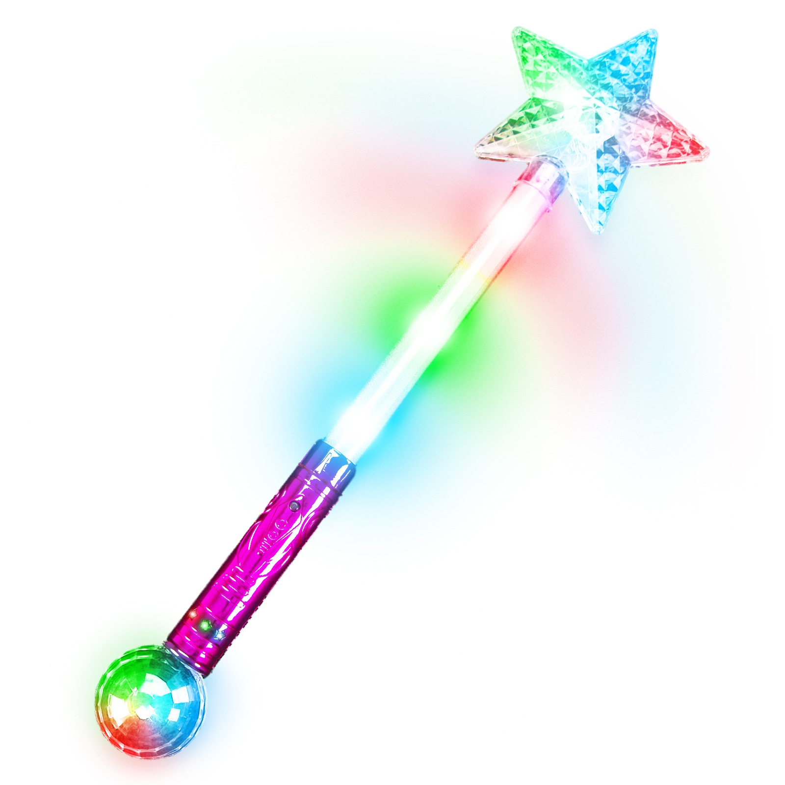 Click to view product details and reviews for Large Flashing Star Wand.