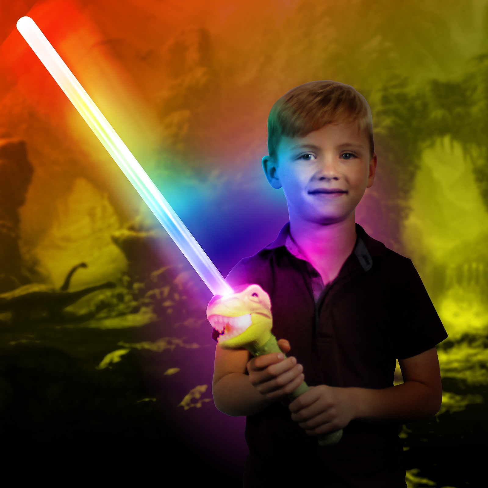 Click to view product details and reviews for Flashing Dinosaur Sword.