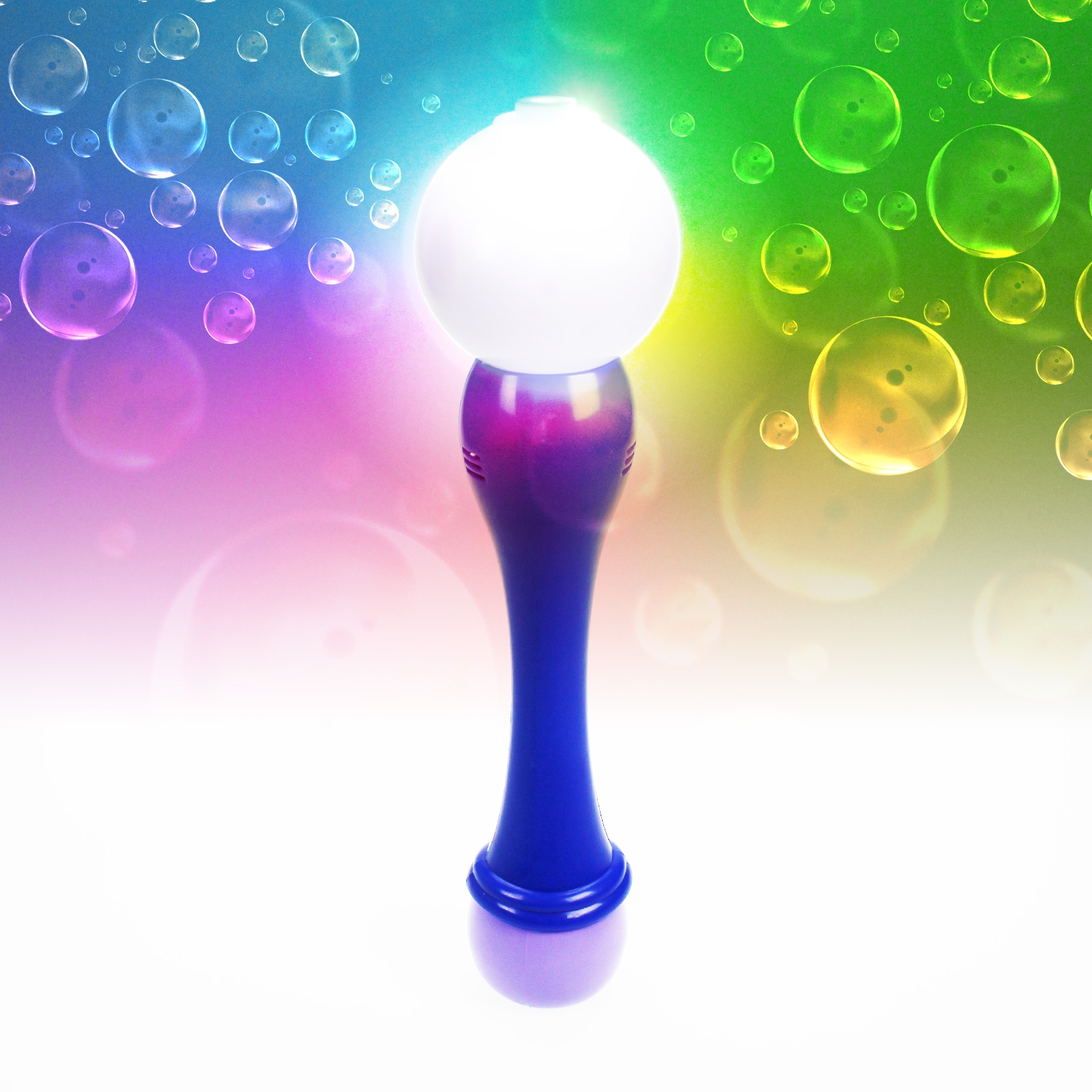 Click to view product details and reviews for Flashing Bubble Ball Wand Wholesale.
