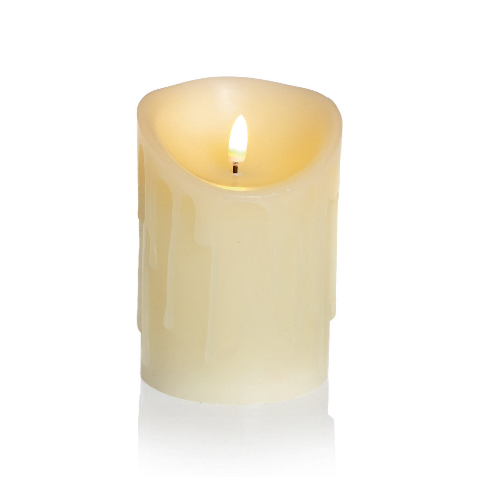 Click to view product details and reviews for 13cm Flickabright Wax Drip Candle.