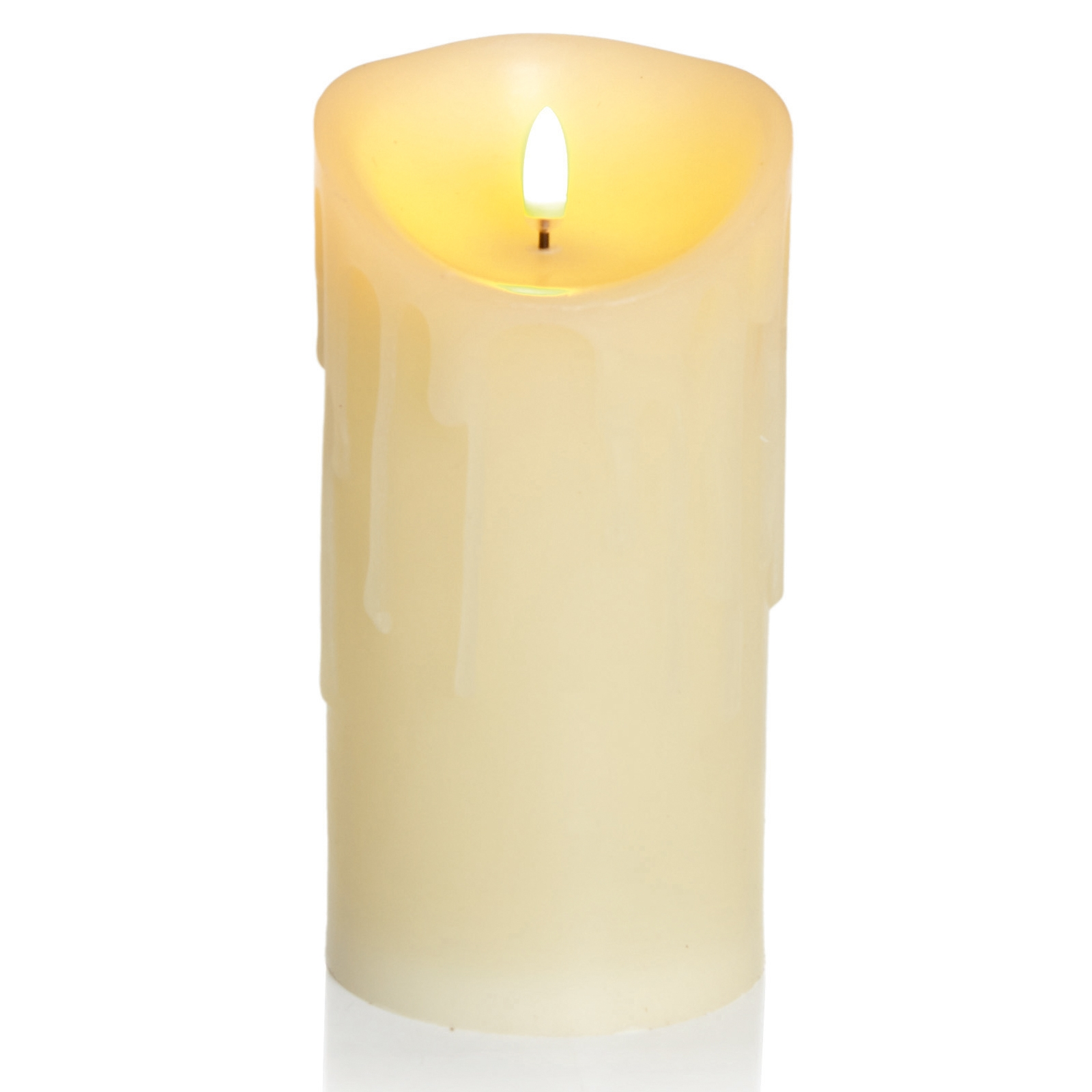 Click to view product details and reviews for 18cm Flickabright Wax Drip Candle.