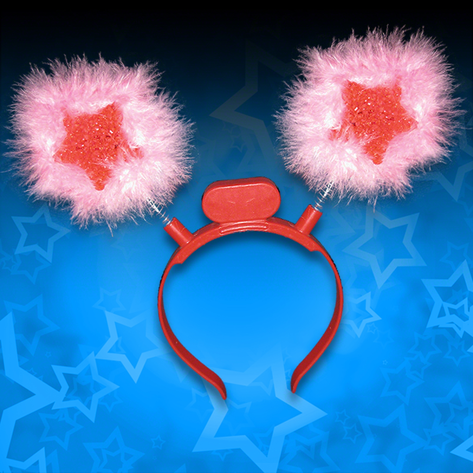 Click to view product details and reviews for Furry Star Head Boppers.