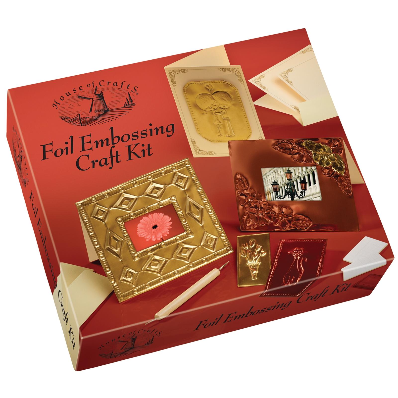 Foil Embossing Craft Kit