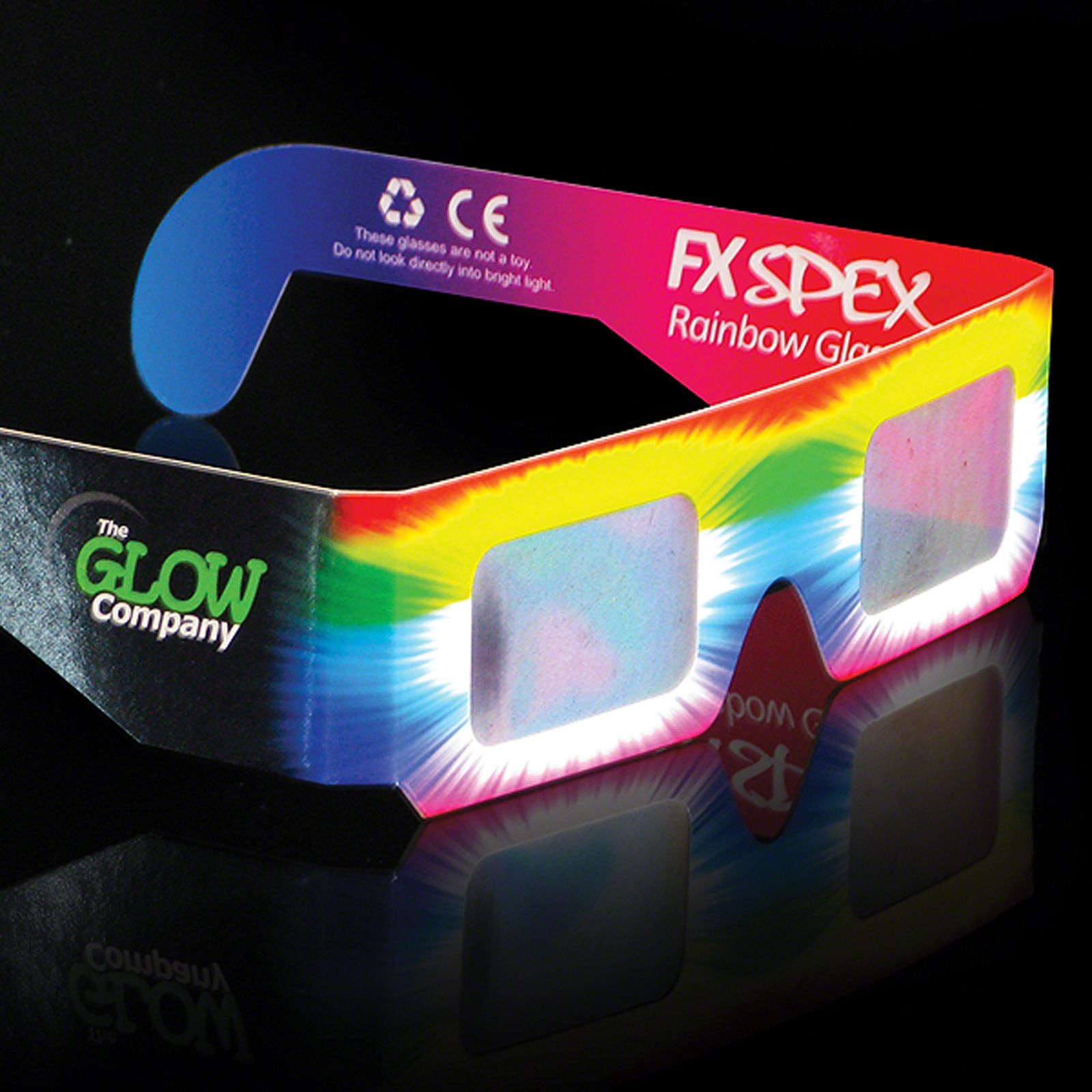 Click to view product details and reviews for Wholesale Fx Spex Rainbow Glasses Standard.