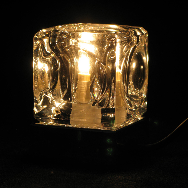 Ice Cube Touch Lamp 14068