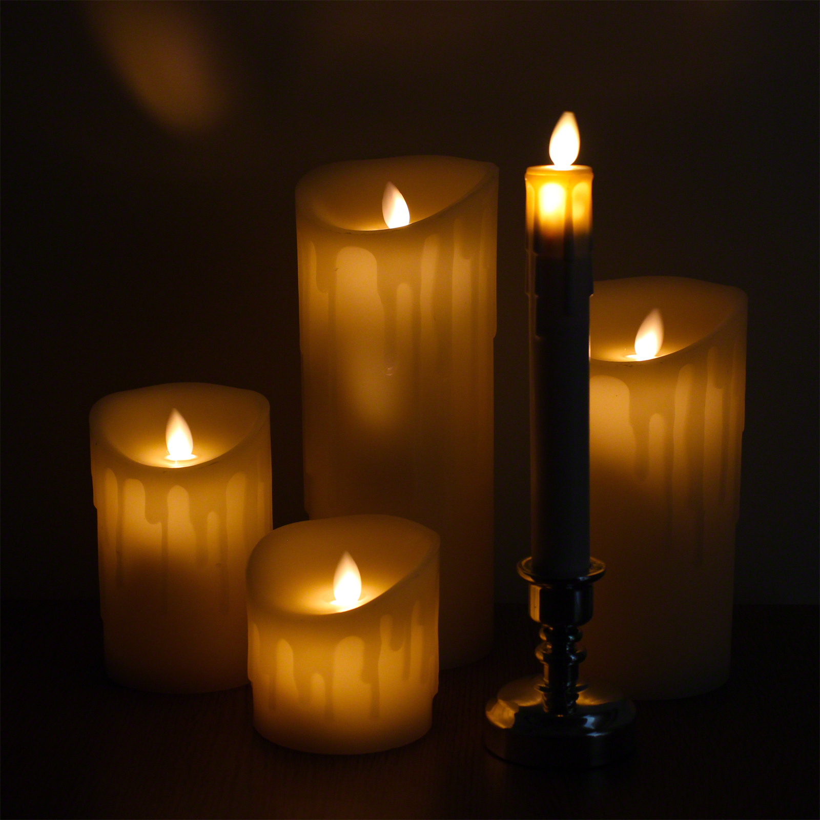 Click to view product details and reviews for Glow Dancer Candles.