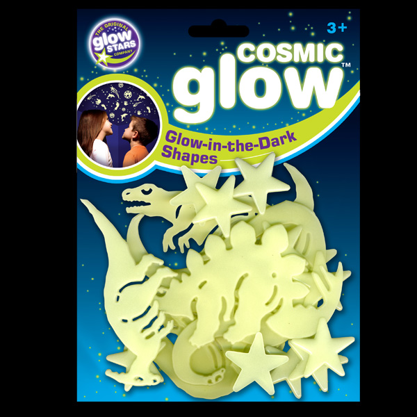 Click to view product details and reviews for Cosmic Glow Dinosaur Shapes.