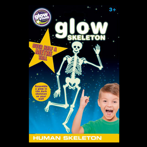 Click to view product details and reviews for Glow Human Skeleton Sticker.