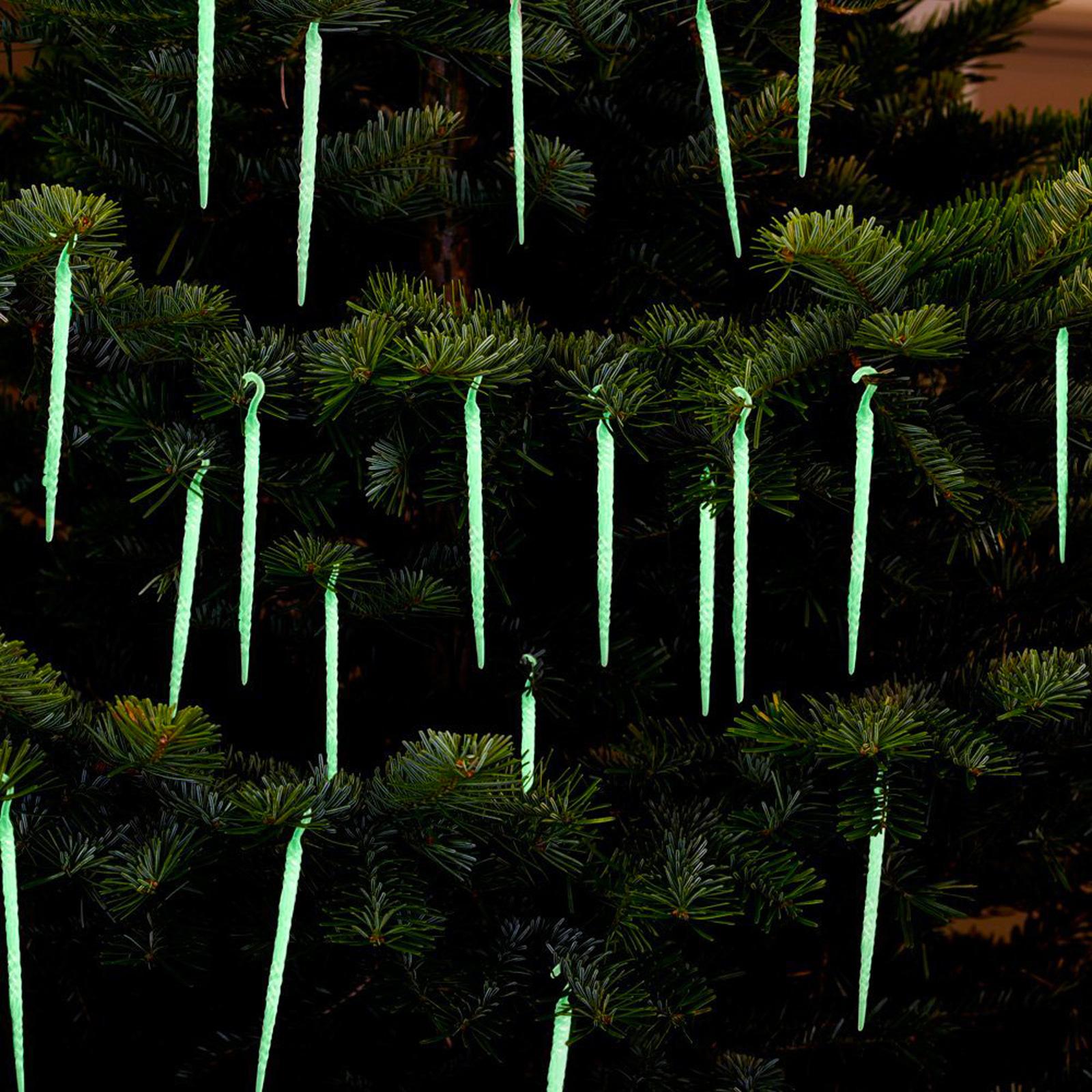 Glow Icicles