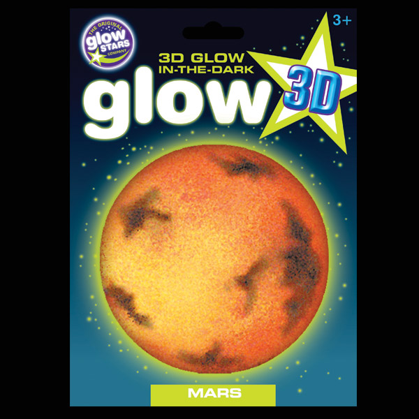 Click to view product details and reviews for 3d Glow In The Dark Mars.