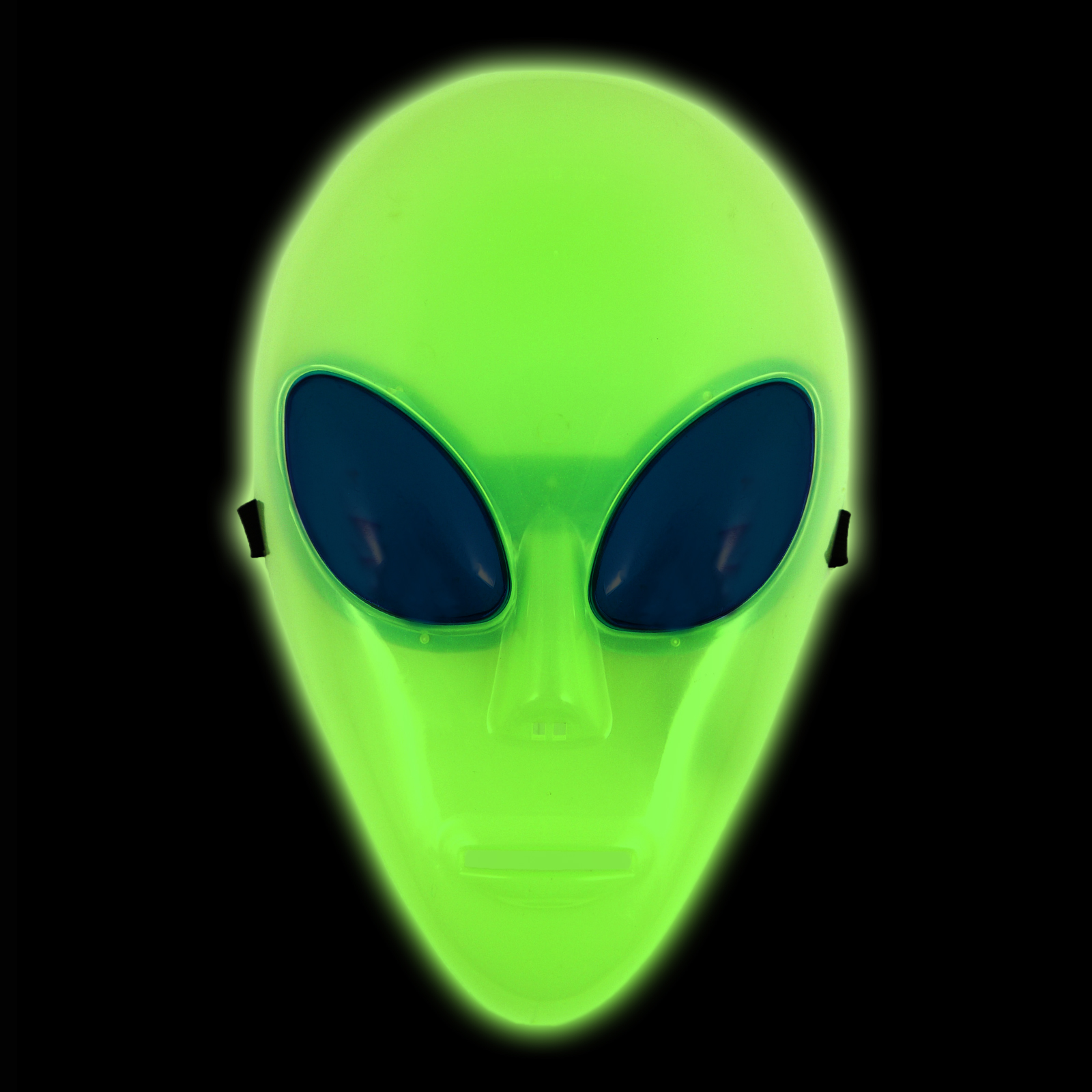 Click to view product details and reviews for Glow In The Dark Alien Mask.