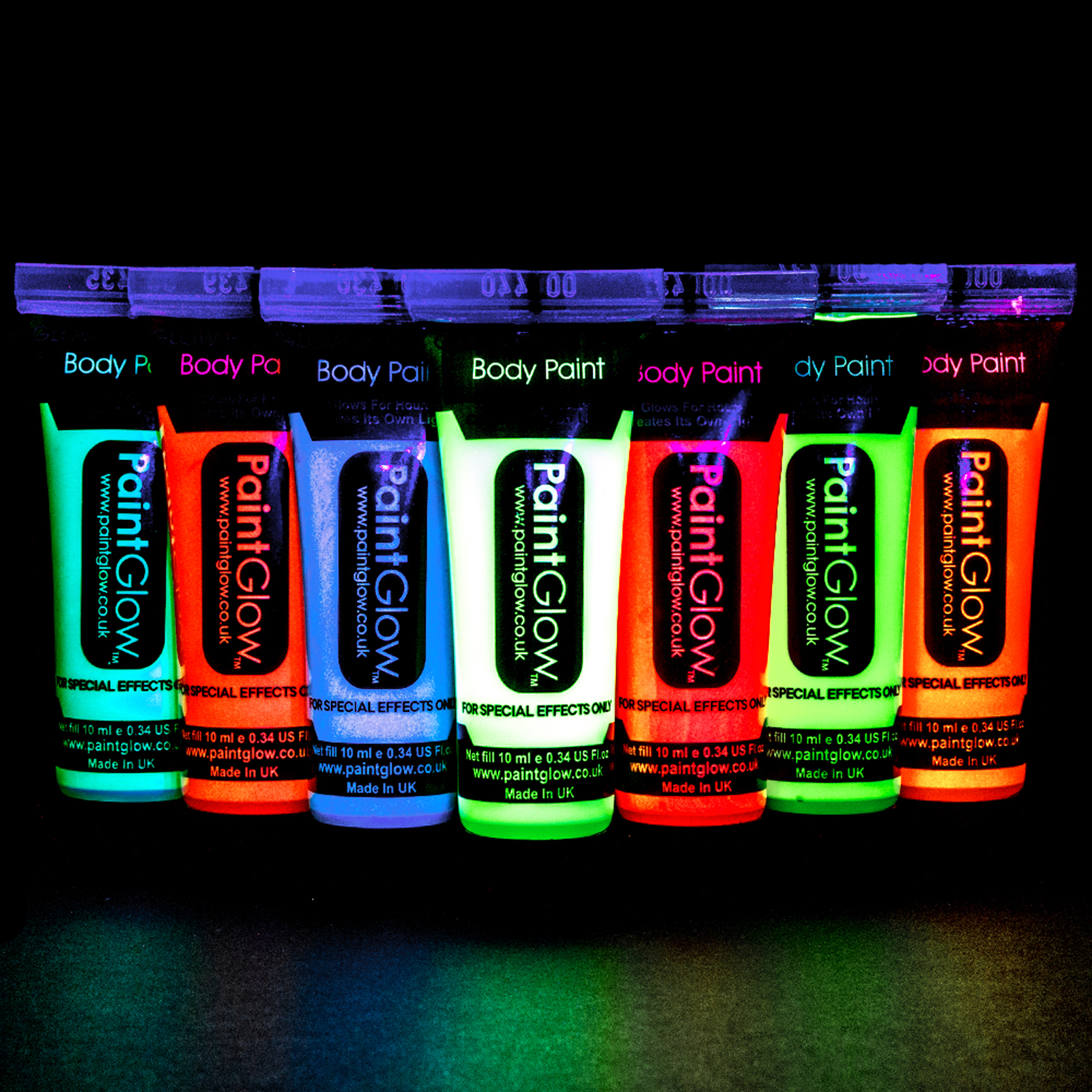 Click to view product details and reviews for Glow In The Dark Body Paint.