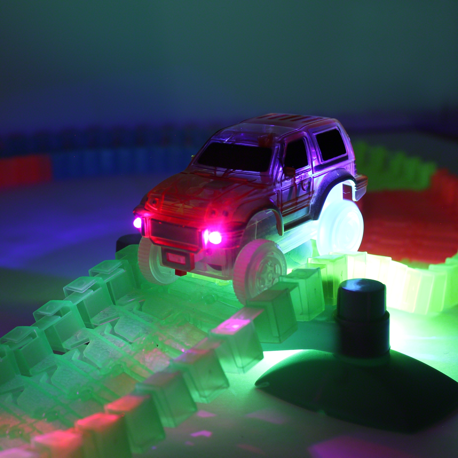 Click to view product details and reviews for Glow In The Dark Magic Race Track.