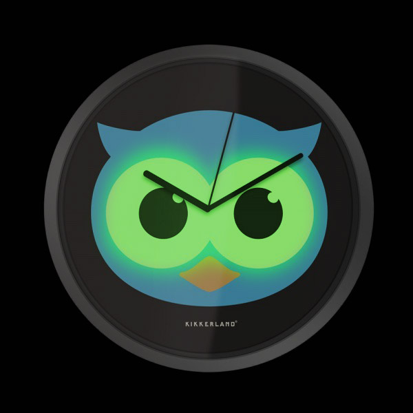 Click to view product details and reviews for Glow In The Dark Owl Clock.