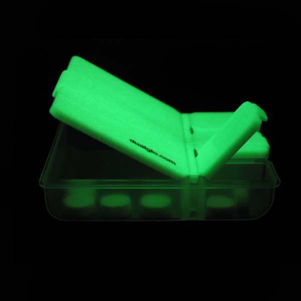 Click to view product details and reviews for Glow In The Dark Pill Box.